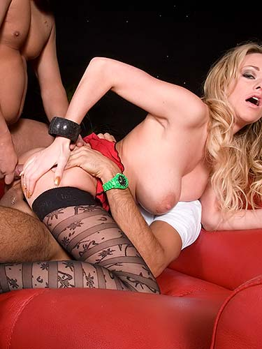 Paige Ashley dp threeway dream with Tony James and Demetri XXX
